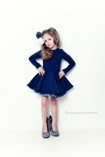 Sukienka Navy Blue Little Princess